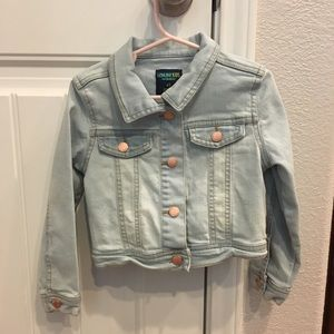 OshKosh B'gosh Jackets & Coats - 🎉HP🎉 NWOT Genuine Kids embroidered denim jacket